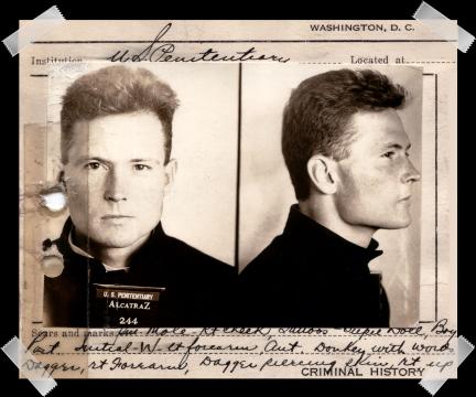 george machine gun alcatraz